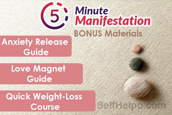 5 Minute Manifestation Bonus Materials
