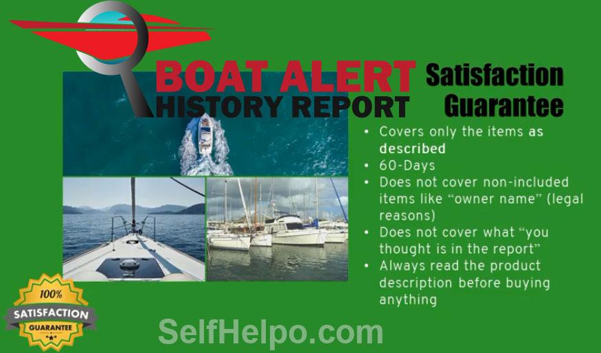 Boate Alert History Report Satisfaction Guarantee