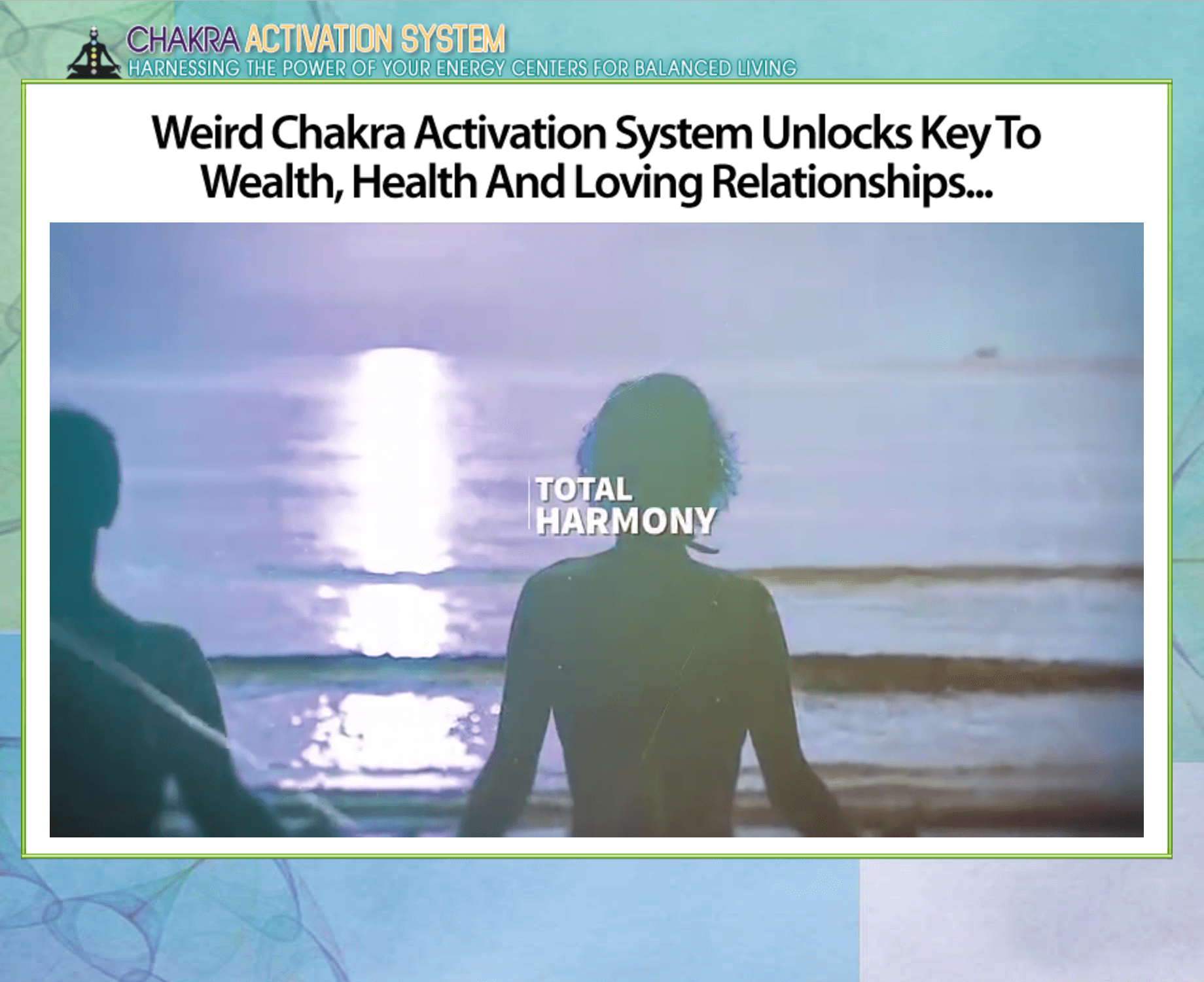 Unlocks key to wealth, health and loving relationships