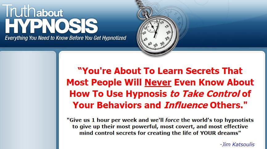 Self-hypnosis to save your life and get it together