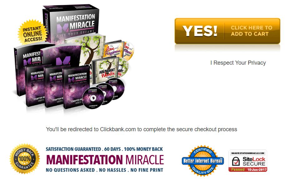 Manifestation Miracle CDs