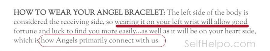 Cosmic Angel Bracelet How to wear your bracelet