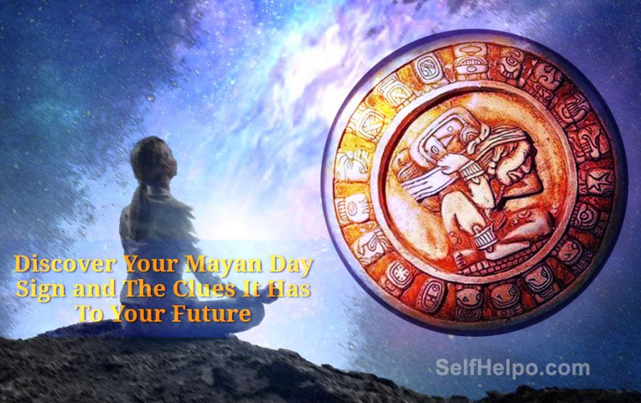 Cosmic Energy Mayan Day Sign