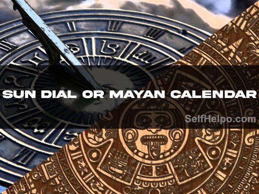 Cosmic Energy Profile Sun Dial or Mayan Calendar