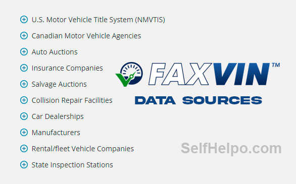 Faxvin Data Sources