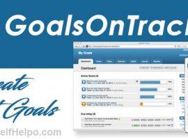 GoalsOnTrack Create Smart Goals