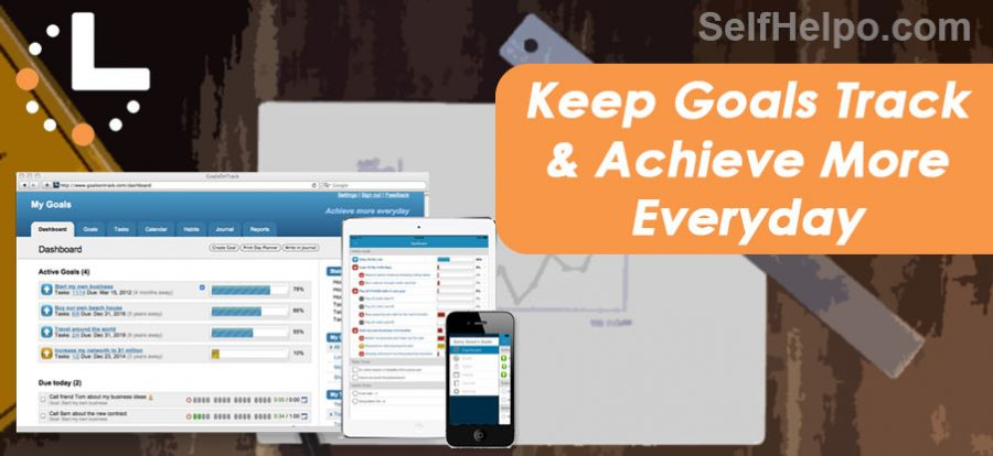 GoalsOnTrack Keep Goals on Track and Achieve more Everyday