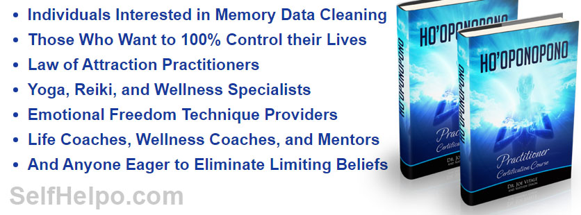 Ho'oponopono Certification Memory Data Cleaning