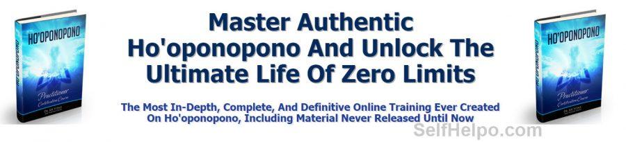 Ho'oponopono Certification Ultimate Life of Zero Limits