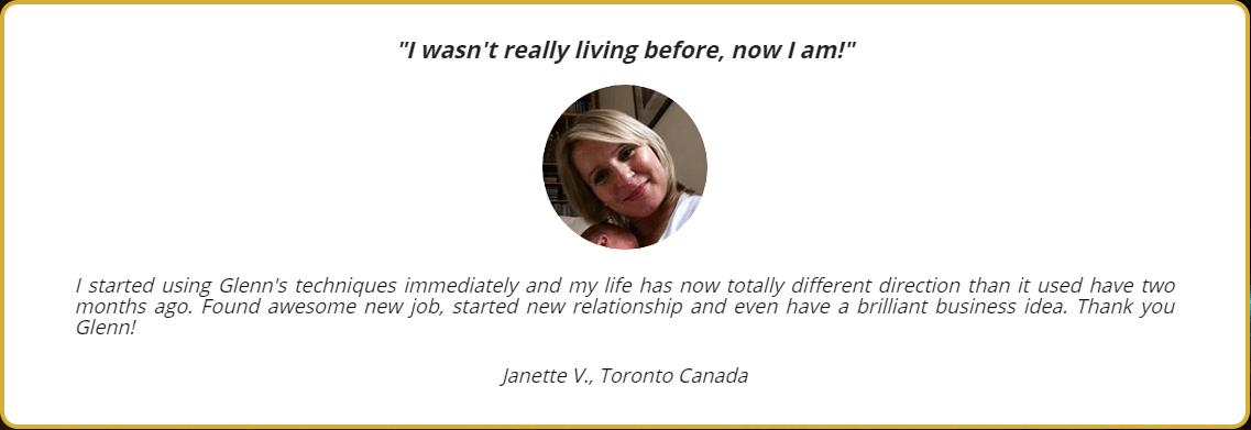 Janette V Testimonial