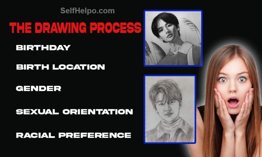 Master Wang's Soulmate Drawings The Drawing Process