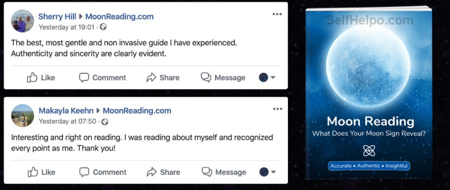 Moon Reading Reviews on Facebook