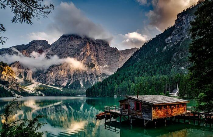 Mountain in Italy