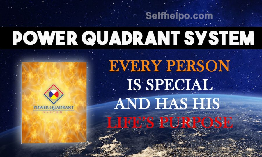 Power Quadrant System Every Person Is Special