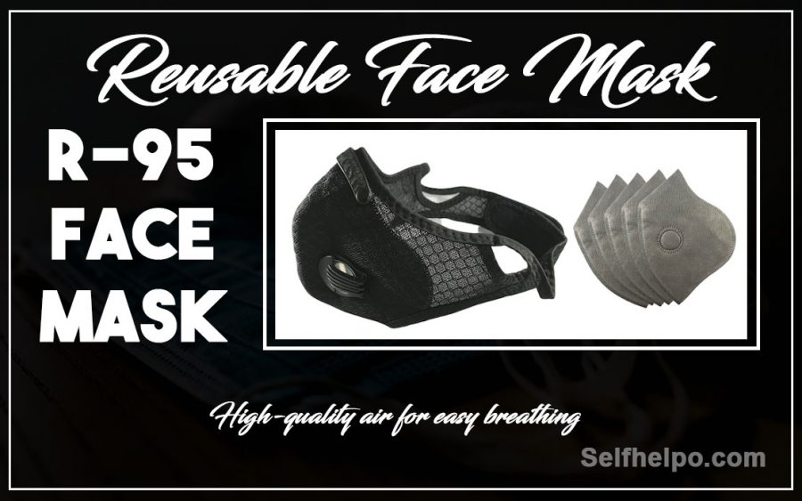 R95 Reusable Face High Quality for easy Breathing