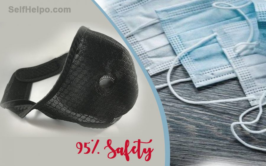 R95 Reusable Face Mask 95% Safety