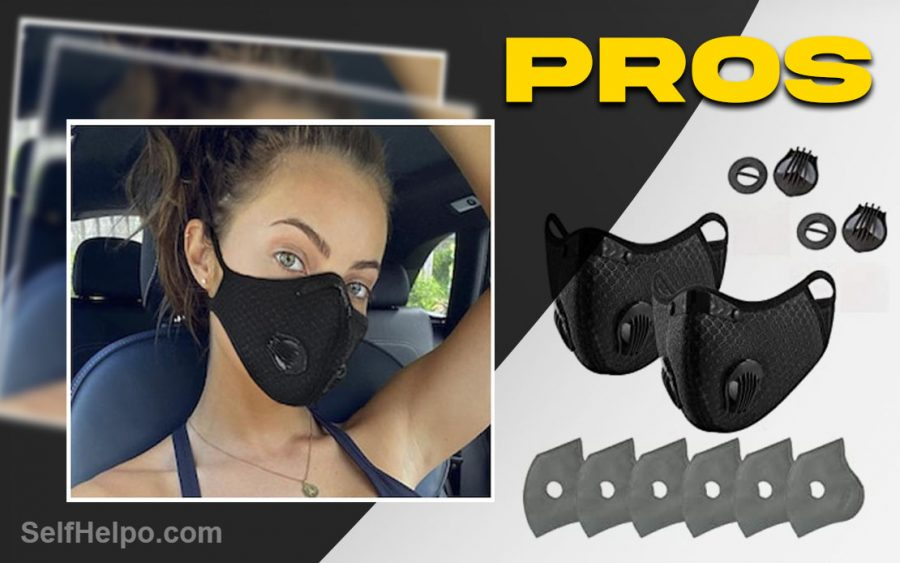 R95 Reusable Face Mask Pros of the Product