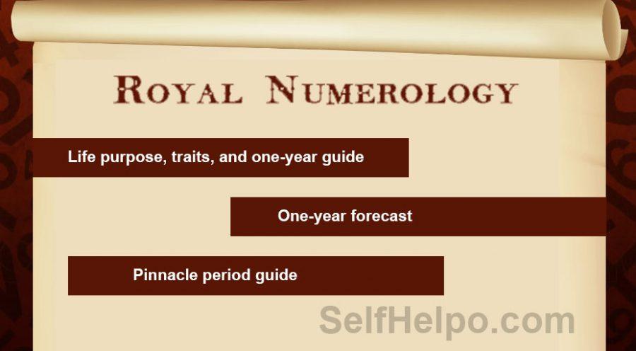 Royal Numerology Premium Report
