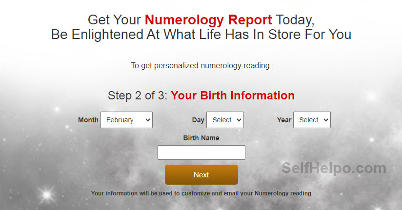 Royal Numerology Report