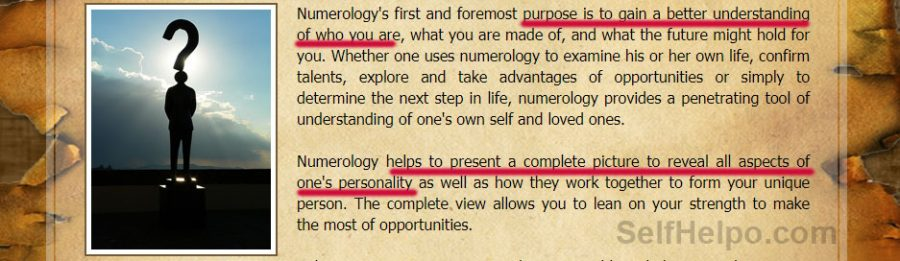 Royal Numerology Understanding of who you are
