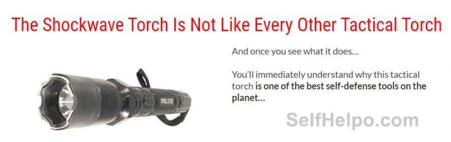 Shockwave Torch Not Like other Tactical Torch