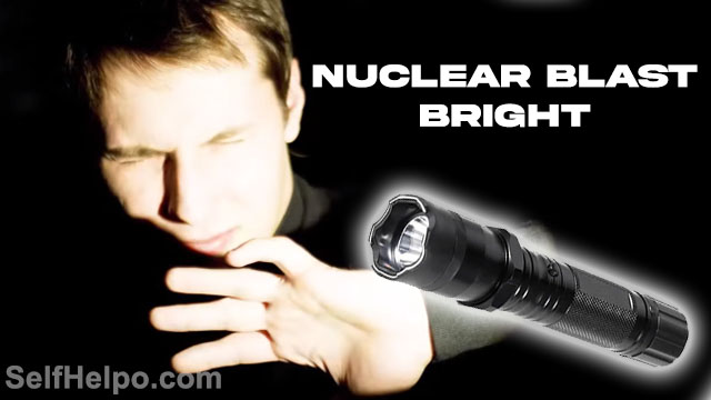 Shockwave Torch Nuclear Blast Bright