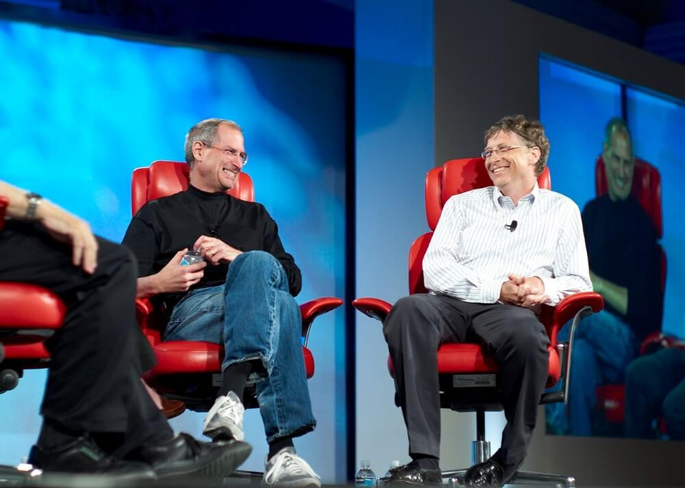 Steve Jobs-Bill Gates