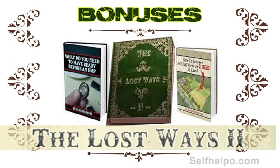The Lost Ways II Bonuses