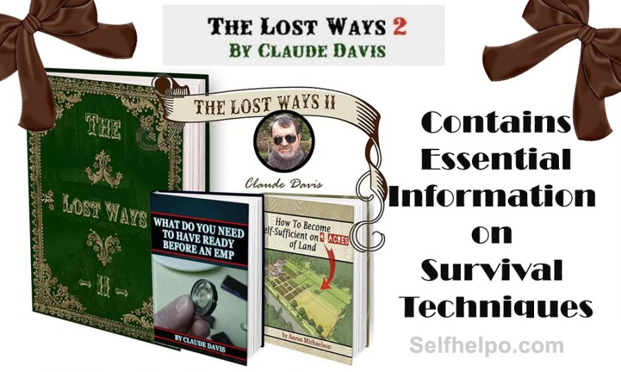 The Lost Ways II Contains Essential Information
