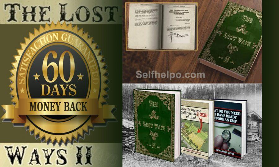 The Lost Ways II Money Back Guarantee