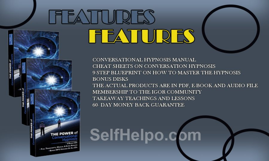 The Power Of Conversational Hypnosis Features