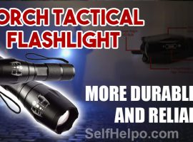 Torch Tactical Flashlight Durable and Reliable