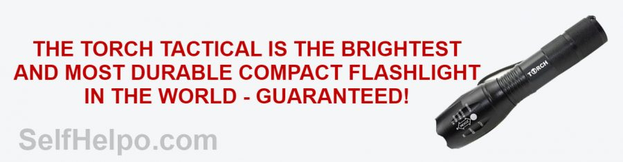 Torch Tactical Flashlight Most Durable Compact Flashlight