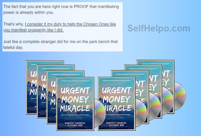 Urgent Money Miracle Proof