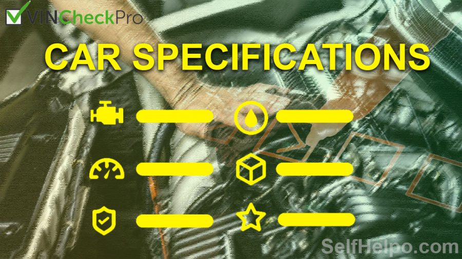 Vin Check Pro Car Specifications