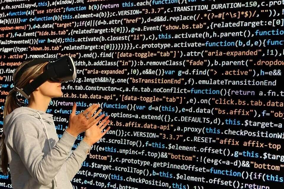 Virtual Virtual World Cyber Glasses Virtual Glasses