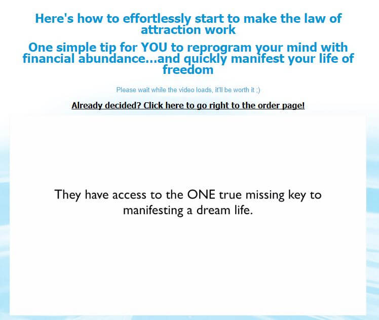 Website of the abundance index