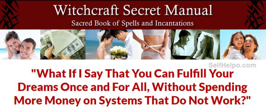 Witchcraft Secret Manual Fulfill your dreams