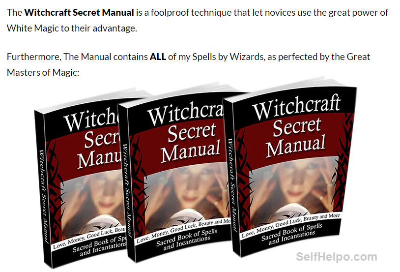 Witchcraft Secret Manual Power of White Magic