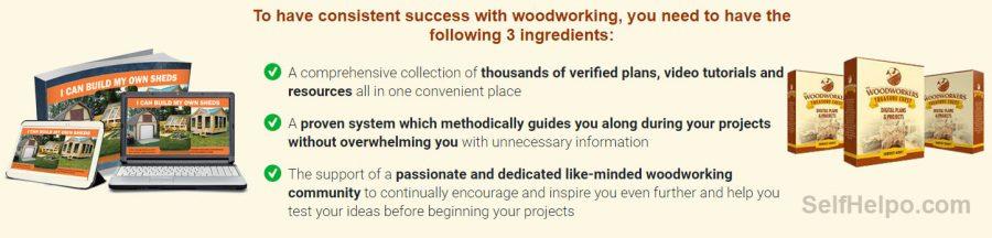 Woodworkers Treasure Chest 3 Ingredients