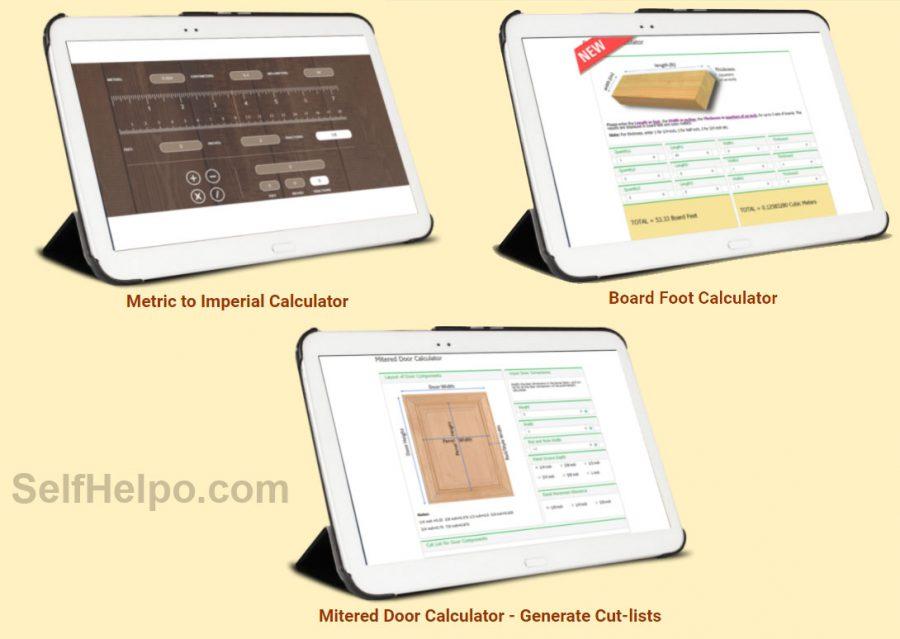 Woodworkers Treasure Chest Calculator App