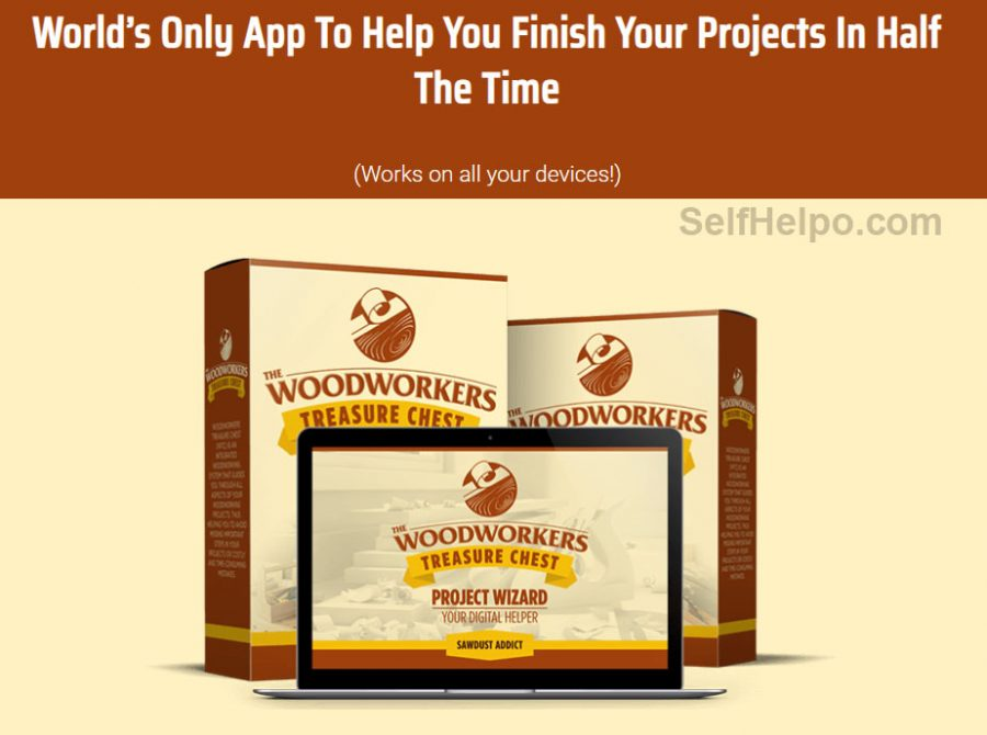 Woodworkers Treasure Chest Works on all Devices