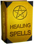 Yellow healing book image
