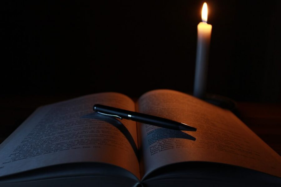 Candle, Book, Old, Light, Library