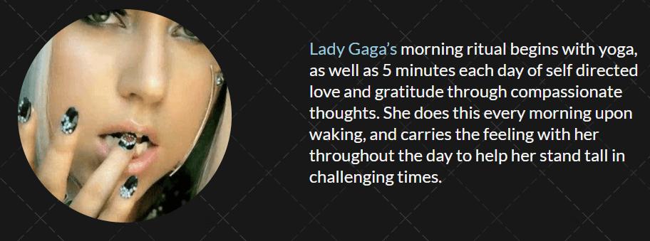 Lady Gaga- Routine