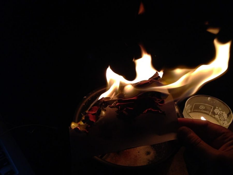 Fire, Witch, Magic