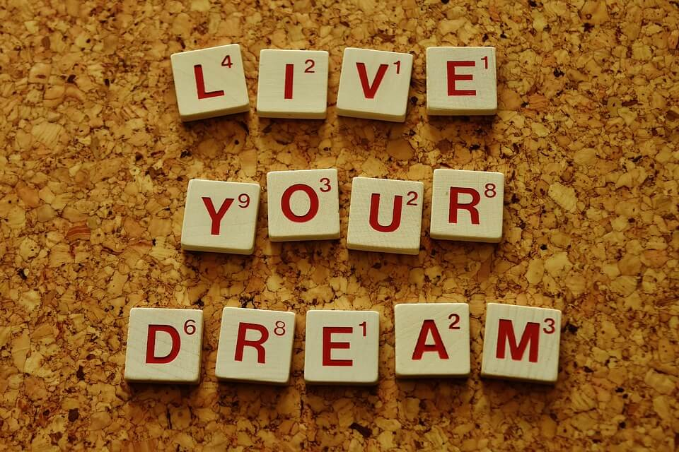 Living your dreams with self-confidence