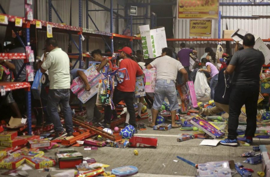 looting from stores
