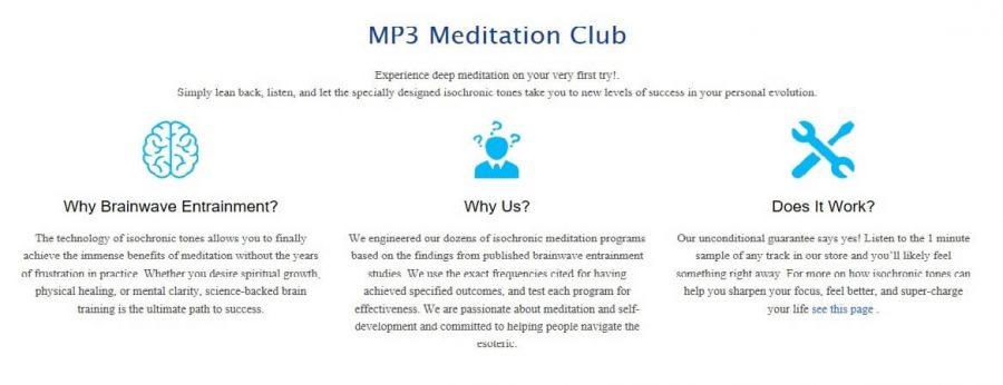 Reasons why you should choose Mp3 Meditation Club