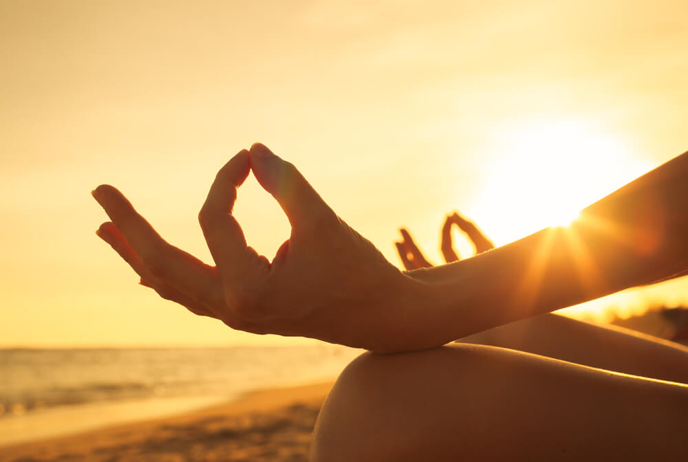 spiritual retreat through meditation